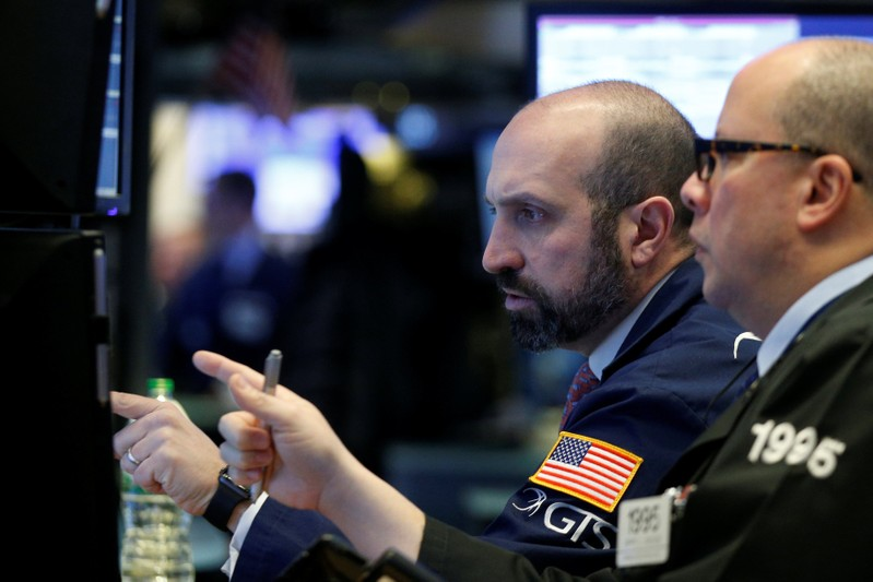 Dow Ends Above  For First Time On Earnings Optimism