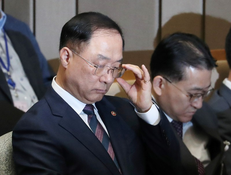 South Koreas Finance Minister Nominee Says Economy Below Potential