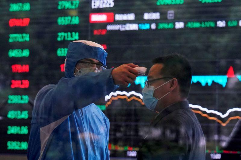 """Résultat de recherche d'images pour """"china, stocks exchange, coronavirus, china,"""""""