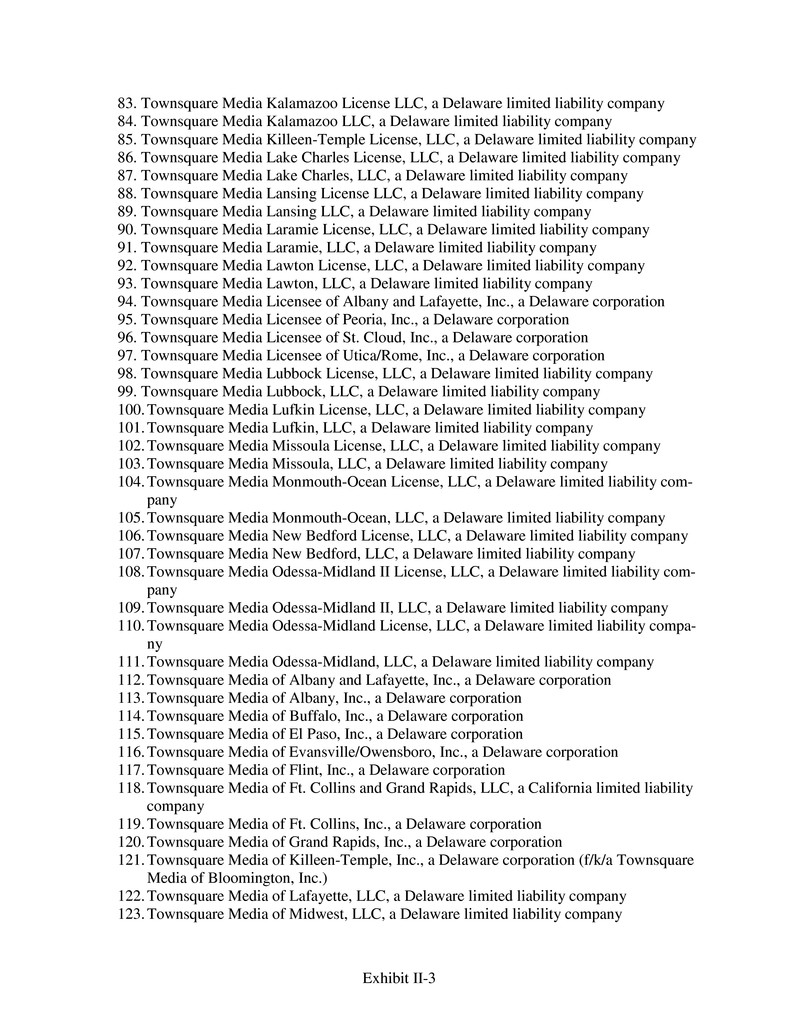 Form 8 K Townsquare Media Inc For Mar 26