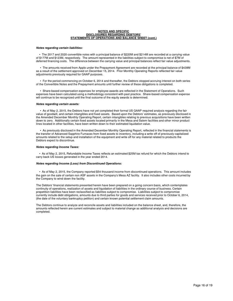 Form 8 k gt advanced technologies for jun 01 page falaconquin