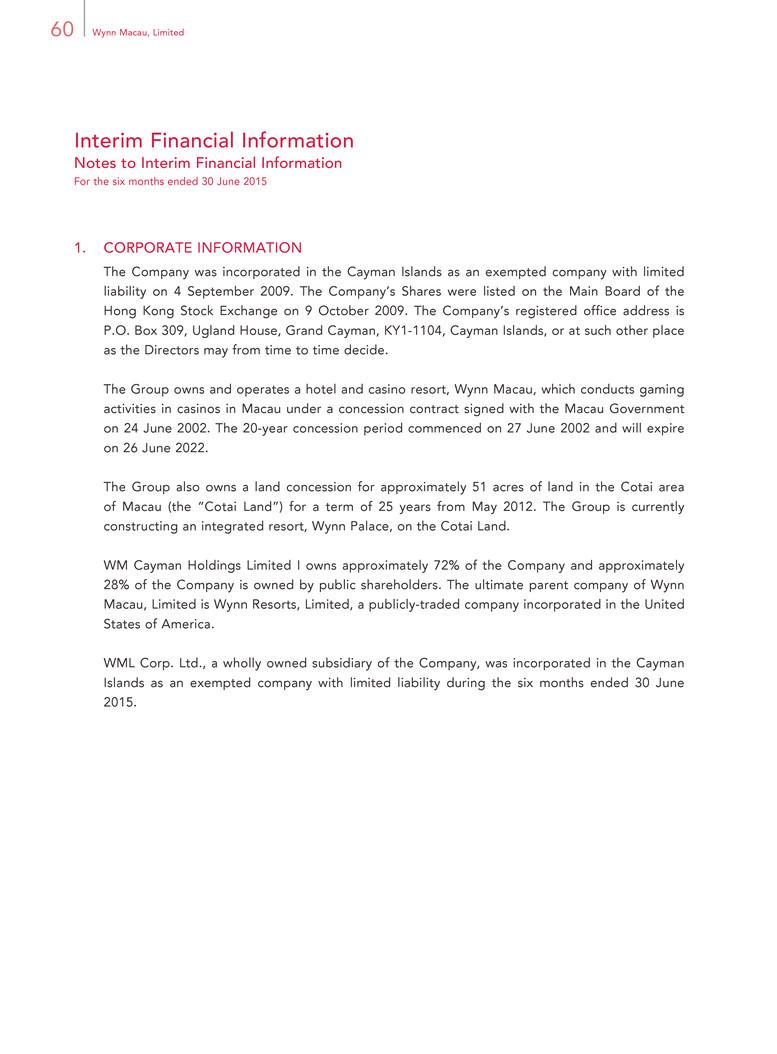 Form 8-K WYNN RESORTS LTD For: Sep 09